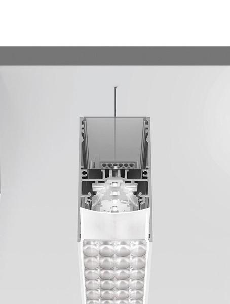 Artemide Architectural A.39 Suspension Controlled Emission UP/DOWN DALI/APP AR AT22604 Black