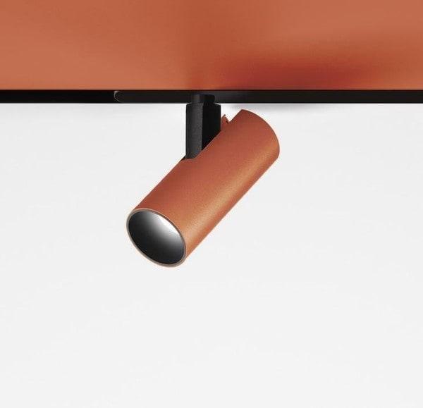 Artemide Architectural Vector Magnetic 40 DALI spot AR AP05118 Copper