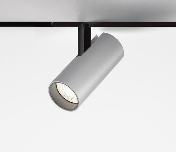 Artemide Architectural Vector Magnetic 55 DALI spot AR AP10115 Brushed silver