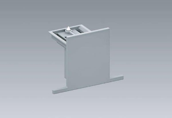 Orbit Track 3-PHASE DALI Dead-End cap recessed OR BS1221RDS White