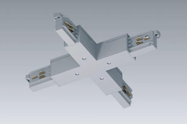 Orbit Track 3-PHASE DALI X-junction recessed OR BS1143RDS Grey