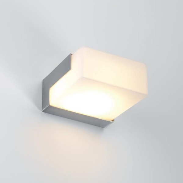PSM Lighting Monet Carré horizontal PS 641.HL105.5 Stainless steel