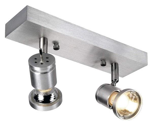 SLV Asto 2 DM 147442 Brushed aluminium